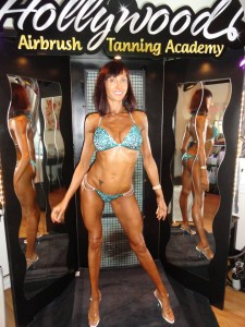 learn how to do bodybuilder spray tans